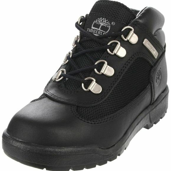 Timberland Field Big Kids Boots Black 15906